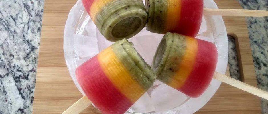 Picolé de frutass