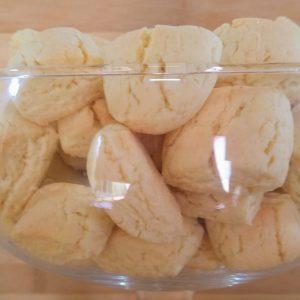 Receita de biscoito de nata