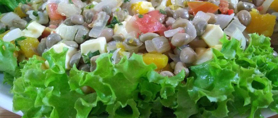 Receita de salada de feijão verde