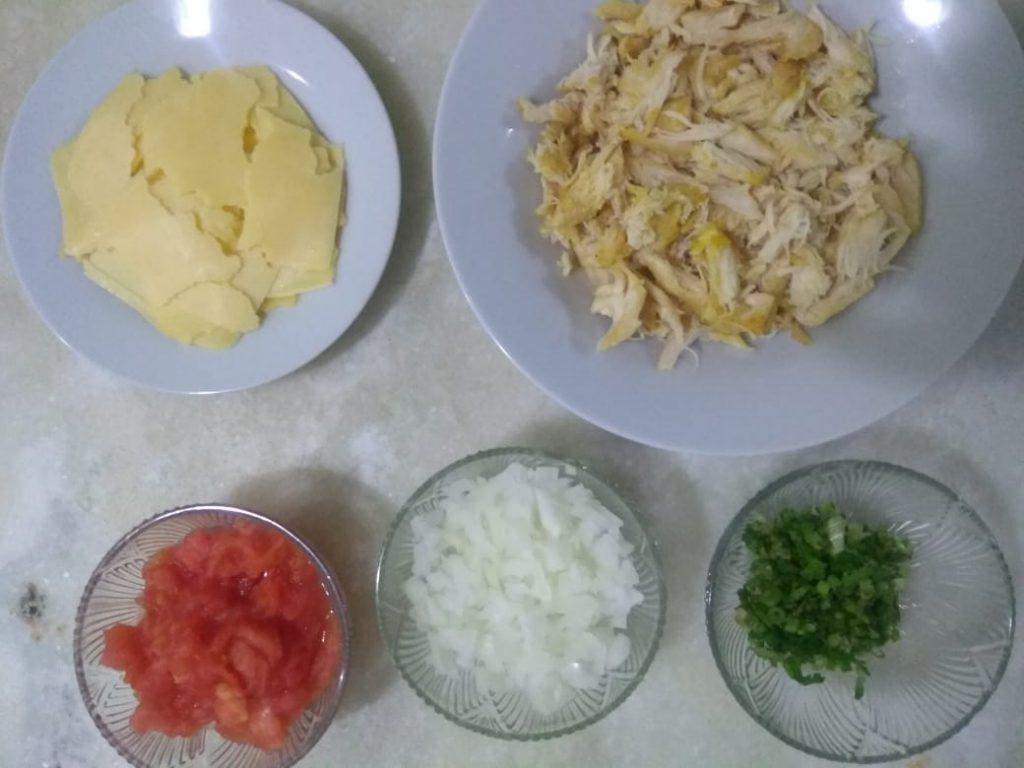 Receita de torta de abóbora com recheio de frango