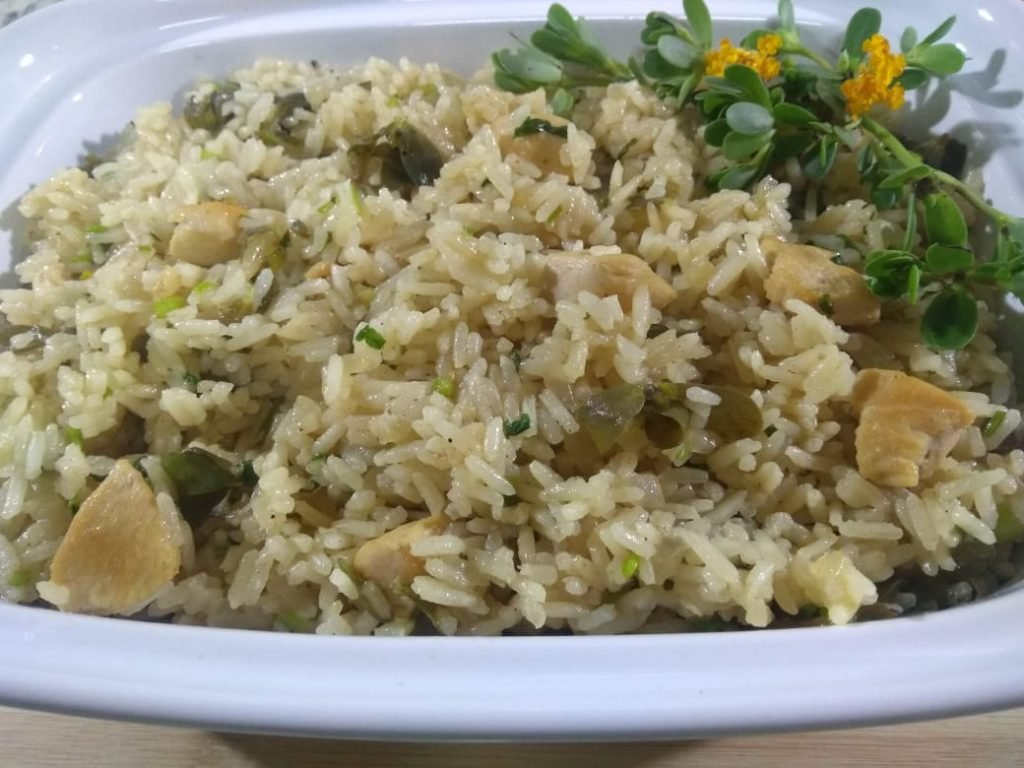 Arroz de beldroega